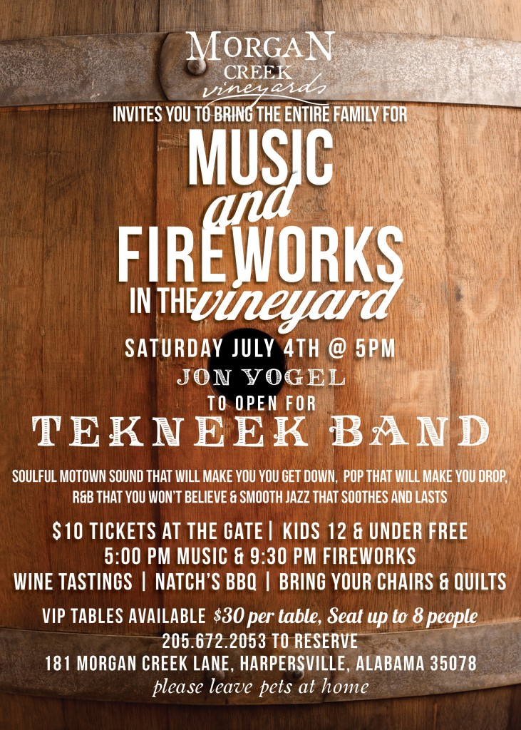 July 4th at the Vineyard